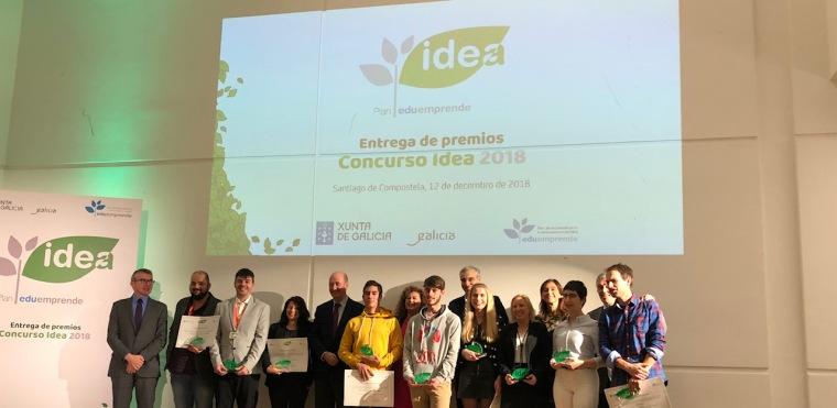 Entrega premios Idea EduEmprende